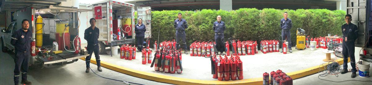 Unidades móviles e instalación de equipos contra incendios RTM
