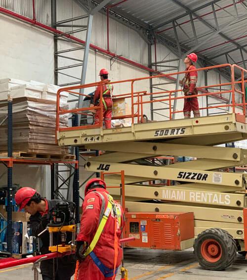 Instalación de sistemas contra incendios